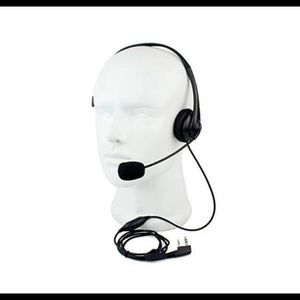 New RETEVIS 2 way mic noise cancelling headset